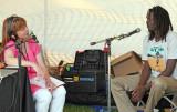 2012_08_12 Lark Clark interviews Emmanual Jal