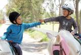 2014_04_25 Visiting CRINES Theraputic Riding Centre in Arequipa, Peru