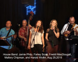 2015_08_29 Blue Chair House Band with Mallory Chipman and Freddi MacDougall