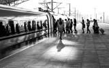 Boarding the high speed rail for the return trip to Shanghai. CZ2A3273.jpg