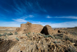 Chaco Canyon in what is now New Mexico. Country of the 1st People.
