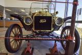1912 Ford Model A Touring car, 4 cylinder engine, 20 horsepower.