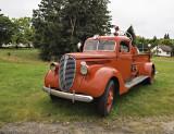Seen in MI. 1937 Ford Seagrave fire truck