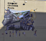 An Elkhart, IN mural