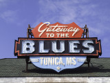 The Tunica MS blues sign
