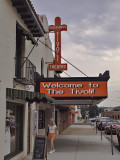 Another view of the Tivoli sign.