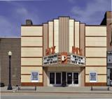 The Pix theater, LaPeer, MI, Circa 1941