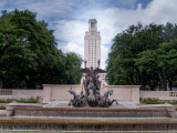 The infamous Univ. of Texas tower