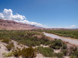 On the Rio Grand River at Boquillas Canyon Overlook