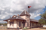 The Historic Southern Pacific Depot in Hondo, Texas, Circa 1880s