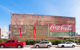 The Galveston, TX Coke wall