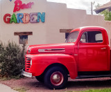 The owner of this 1948 Ford stopped for a beer.