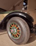 1928 Packard, wheel detail