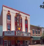 Rex theatre, view 2