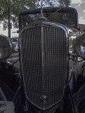 1935 Chevy grill close-up
