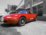 The Electric Mazda Miata- converted by the owner