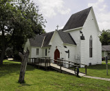 St Matthews Episcopal Church, Kenedy, TX (Circa 1916) (Gothic Revival style)