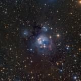 NGC7129 in Cepheus