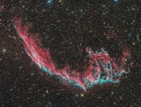 NGC6995 (Eastern Veil Nebula) in Cygnus