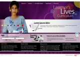 Learners Lives as Curriculum mockup  (2004)