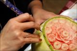 Fruit Carving - My wifes wonderful work