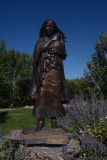 Sacajawea related places and statues