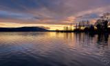 Waihola sunrise.