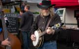 Bluegrass at the market.