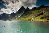 Bunesfjord and Mountains