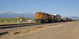 BNSF coming through Walsenburg.