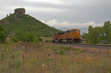 BNSF empty coal train through Castle Rock, CO.