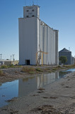Grainfield, KS grain elevator.