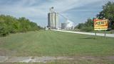 White City, KS. concrete grain elevator.