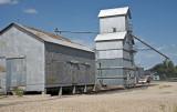 Alma, KS old grain elevator.