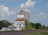 Paxico, KS old grain elevator.