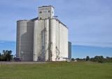 Lincolnville, KS. grain elevator.