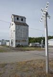 Lincolnville, KS. old grain elevator.