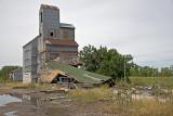 Saffordville, KS old grain elevator.