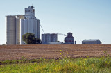 Dillon, KS grain elevators.