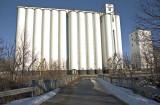 Minneapolis, KS concrete grain elevator.