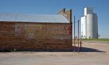 Park, KS concrete grain elevator.