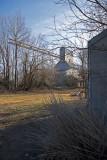 Brookville, KS. old grain elevator.