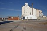Walton, KS. concrete grain elevator.
