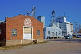 Sedgwick, KS. old grain elevator.