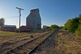 Elmer, KS old grain elevator.