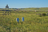 Pioneer Cemetery #3-Tie Siding, WY.