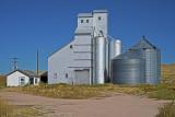Wyoming grain elevators.