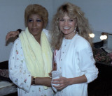 Backstage w Dyan Cannon