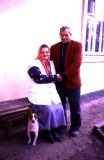 Old Couple & Dog