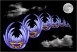 Blue Lily Dreamscape